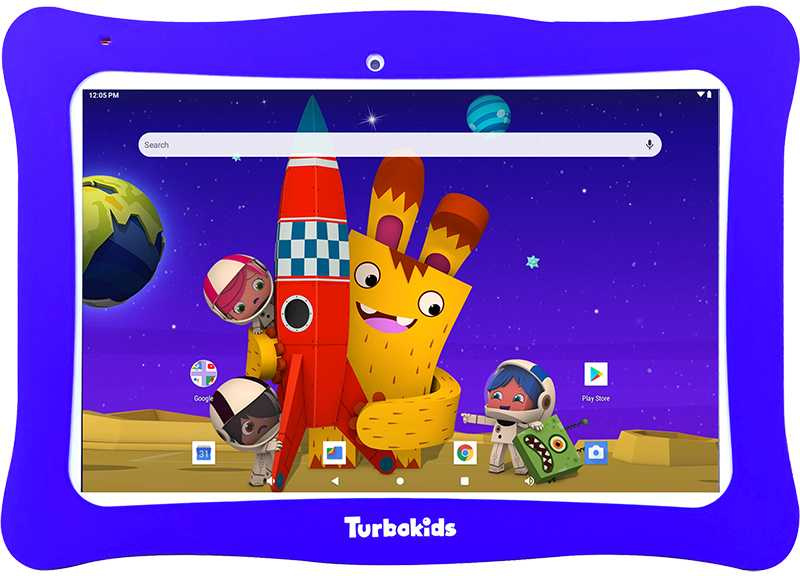 Планшет Turbo TurboKids Star Cortex A35 (1.2) 4C/RAM1Gb/ROM16Gb 10.1