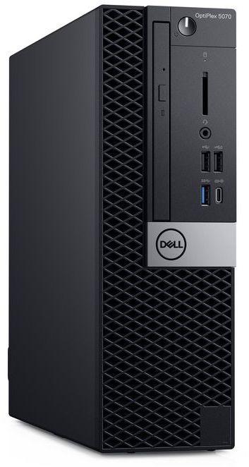 ПК Dell Optiplex 5070 SFF i5 9500 (3)/8Gb/SSD256Gb/UHDG 630/DVDRW/Windows 10 Professional/GbitEth/200W/клавиатура/мышь/ч