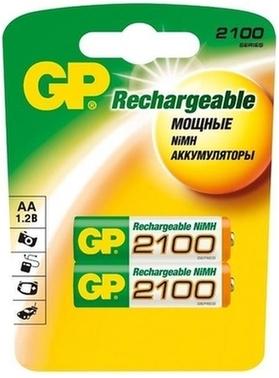 Аккумулятор GP 210AAHC-UC2 2100mAh AA 2шт