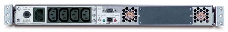 ИБП APC Smart-UPS SUA1000RMI1U 640Вт 1000ВА черный