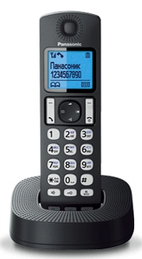 Р/Телефон Dect Panasonic KX-TGC310RU1 черный АОН