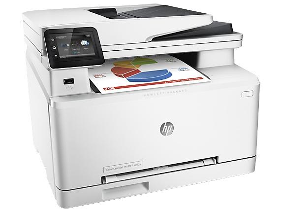 МФУ лазерный HP Color LaserJet Pro 200 MFP M277n (B3Q10A)