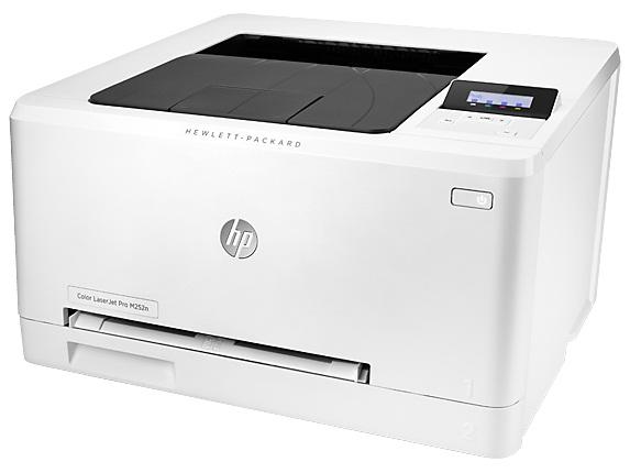 Принтер лазерный HP Color LaserJet Pro M252n (B4A21A)