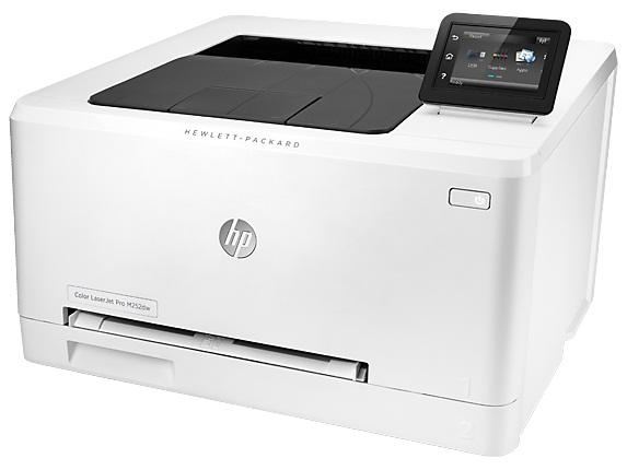 Принтер лазерный HP Color LaserJet Pro M252dw (B4A22A)