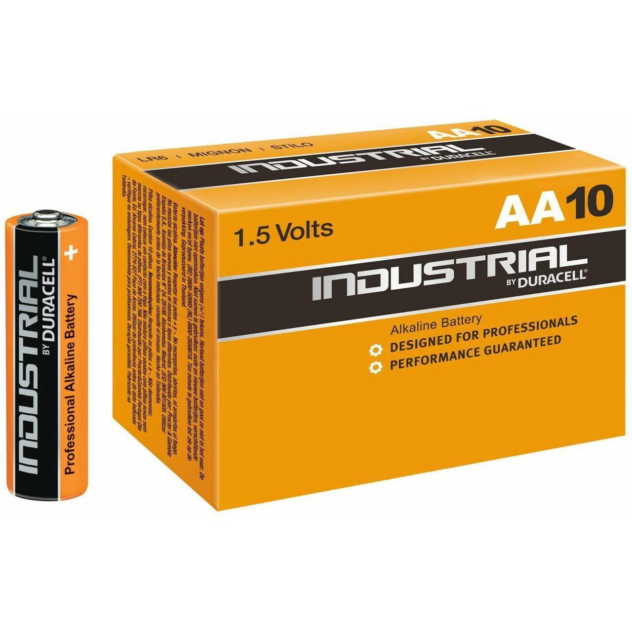 Батарея Duracell Industrial LR6-10BL MN1500 AA (10шт)