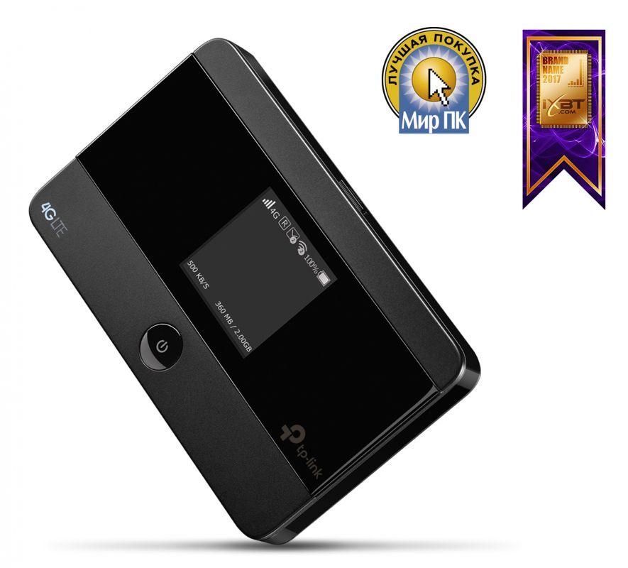 Роутер беспроводной TP-Link M7350 N300 3G/4G черный