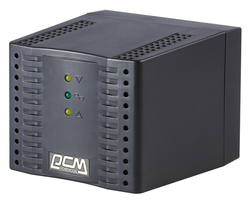 Стабилизатор напряжения Powercom TCA-3000 1500Вт 3000ВА черный