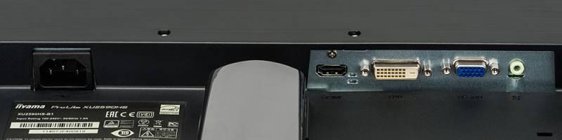"Монитор Iiyama 25"" ProLite XU2590HS-B1 черный IPS LED 5ms 16:9 DVI HDMI M/M матовая 1000:1 250cd 178гр/178гр 1920x1080 D"