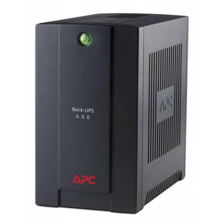 ИБП APC Back-UPS BC650-RSX761 360Вт 650ВА черный