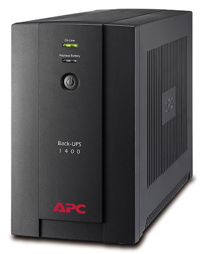 ИБП APC Back-UPS BX1400UI 700Вт 1400ВА черный