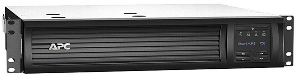 ИБП APC Smart-UPS SMT750RMI2UNC 500Вт 750ВА черный