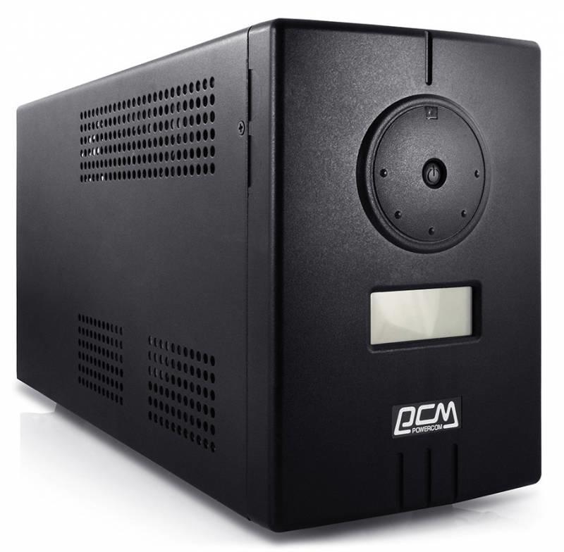 ИБП Powercom Infinity INF-800 480Вт 800ВА черный