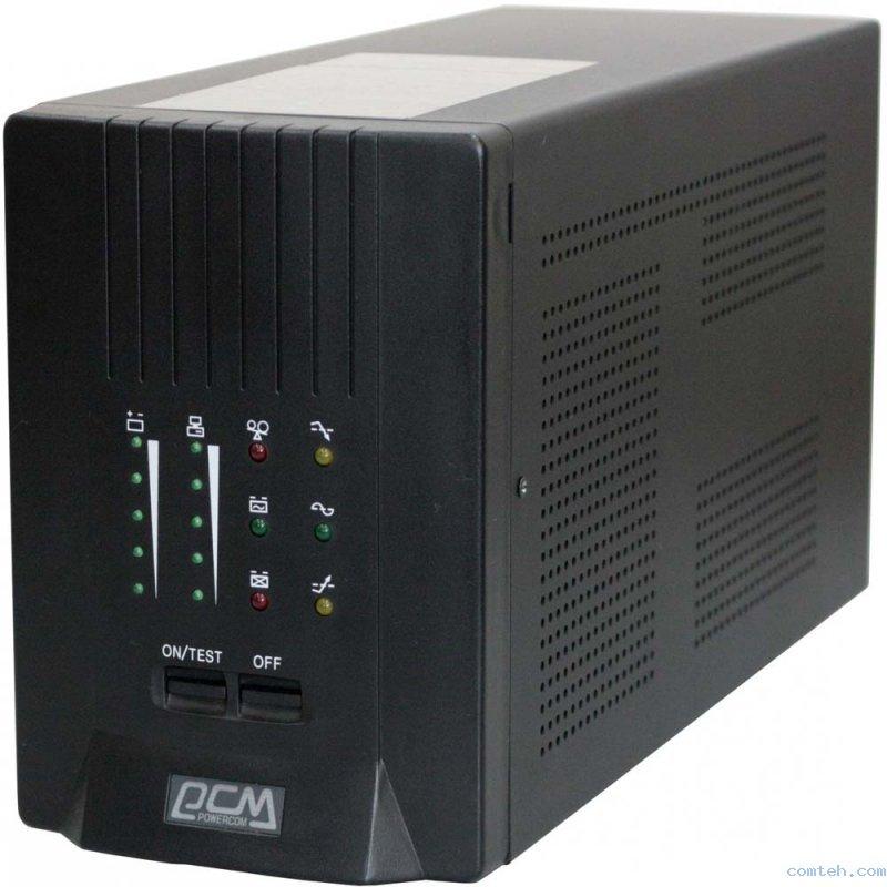 ИБП Powercom Smart King Pro+ SPT-1000 700Вт 1000ВА черный