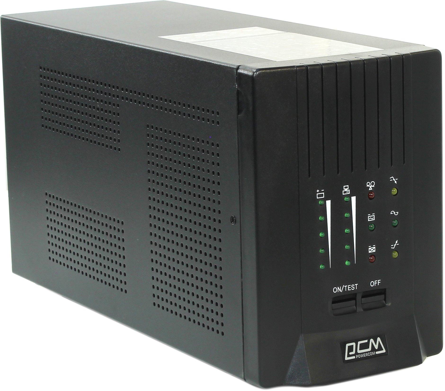 ИБП Powercom Smart King Pro+ SPT-1500 1050Вт 1500ВА черный