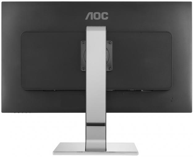 """Монитор AOC 25"""" Professional Q2577PWQ серебристый IPS LED 16:9 DVI HDMI M/M матовая HAS Pivot 350cd 2560x1440 D-Sub Disp"""