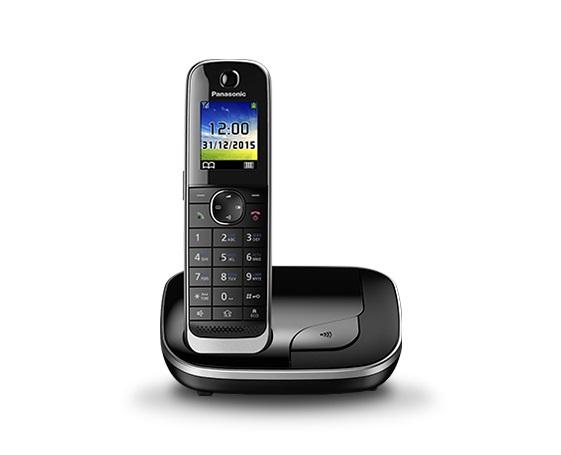 Р/Телефон Dect Panasonic KX-TGJ310RUB черный АОН