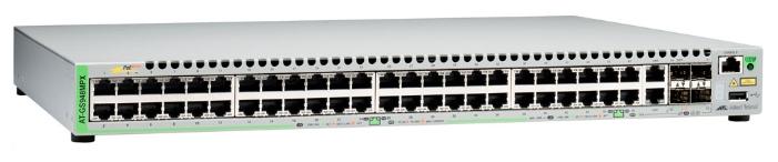Коммутатор Allied Telesis AT-GS948MPX-50 48G 2SFP 48PoE+ 370W управляемый