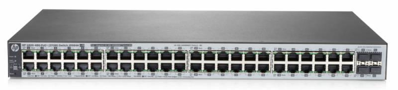 Коммутатор HPE OfficeConnect 1820 J9984A 48G 4SFP 24PoE+ 370W
