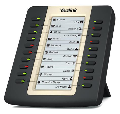 Модуль расширения Yealink EXP20 черный