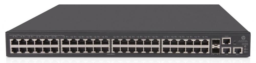 Коммутатор HPE OfficeConnect 1950 JG963A 48G 2SFP+ 48PoE+ 370W
