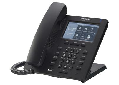 Телефон SIP Panasonic KX-HDV330RUB черный