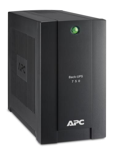 ИБП APC Back-UPS BC750-RS 415Вт 750ВА черный