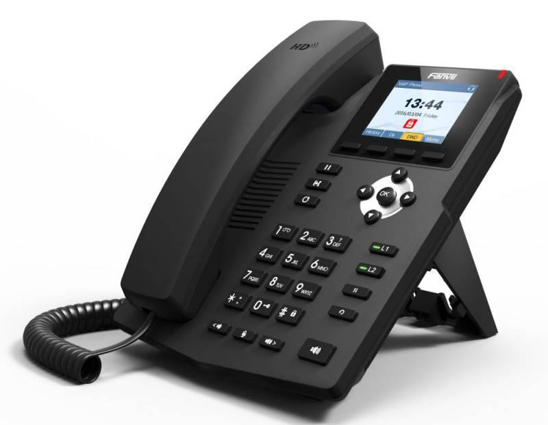 Телефон IP Fanvil X3SP черный