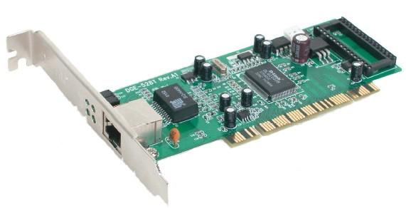 Сетевой адаптер Gigabit Ethernet D-Link DGE-528T DGE-528T/C1B PCI