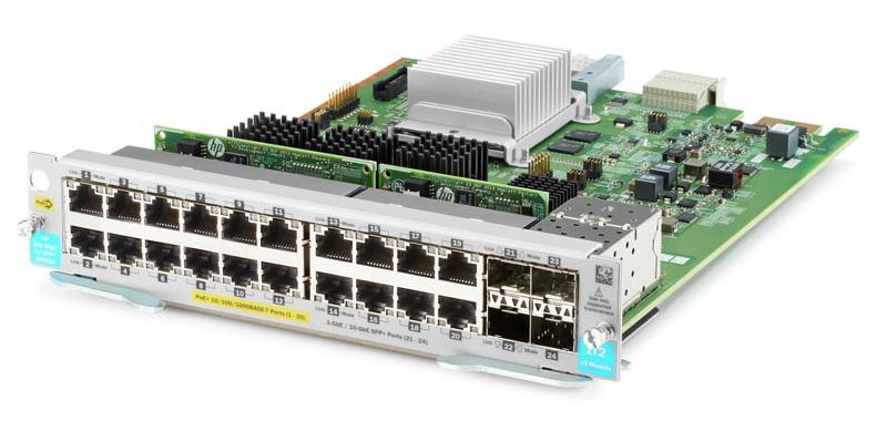 Модуль HPE J9990A Aruba 20p PoE+ 4p SFP+ v3 zl2