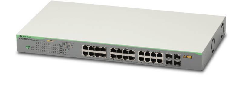 Коммутатор Allied Telesis AT-GS950/28PS-50 24G 4SFP 24PoE+ 185W управляемый