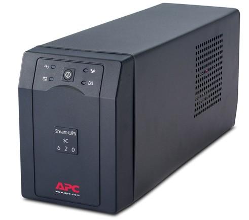 ИБП APC Smart-UPS SC SC620I 390Вт 620ВА черный