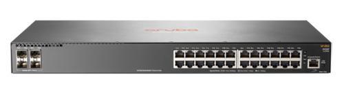 Коммутатор HPE Aruba 2930F JL255A 24G 4SFP+ 24PoE+ 370W управляемый
