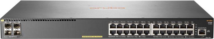 Коммутатор HPE Aruba 2930F JL261A 24G 4SFP 24PoE+ 370W управляемый