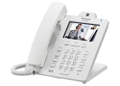 Телефон SIP Panasonic KX-HDV430RU белый
