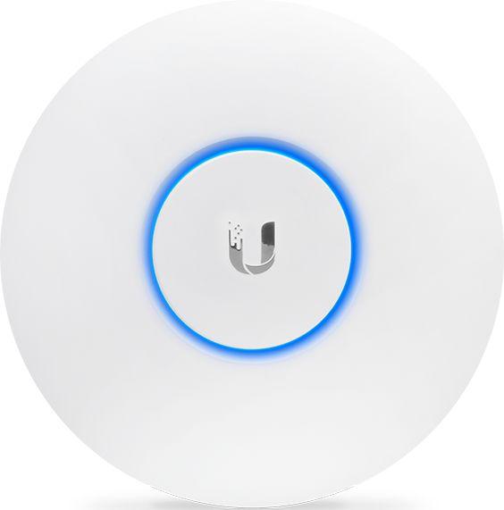 Точка доступа Ubiquiti UAP-AC-LITE(EU) 10/100/1000BASE-TX белый