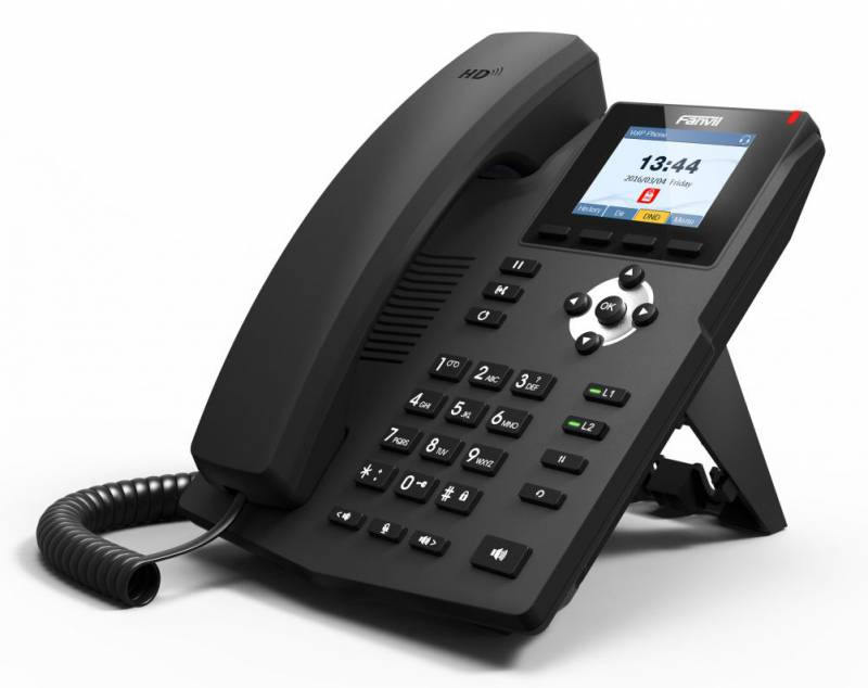 Телефон IP Fanvil X3G черный