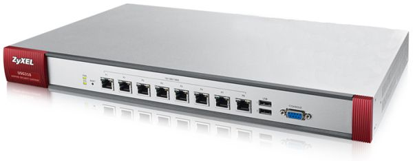 Сетевой экран Zyxel USG310-RU0102F 10/100/1000BASE-TX серебристый
