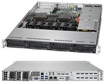 Платформа SuperMicro SYS-6019P-WTR 1G 2P 2x750W