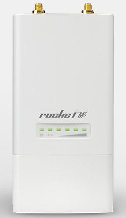 Точка доступа Ubiquiti RocketM5 Wi-Fi белый