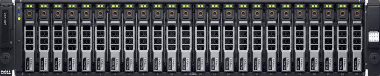 Дисковая полка Dell MD1420 x24 2.5 2x600W PNBD 3Y (210-ADBP-22)