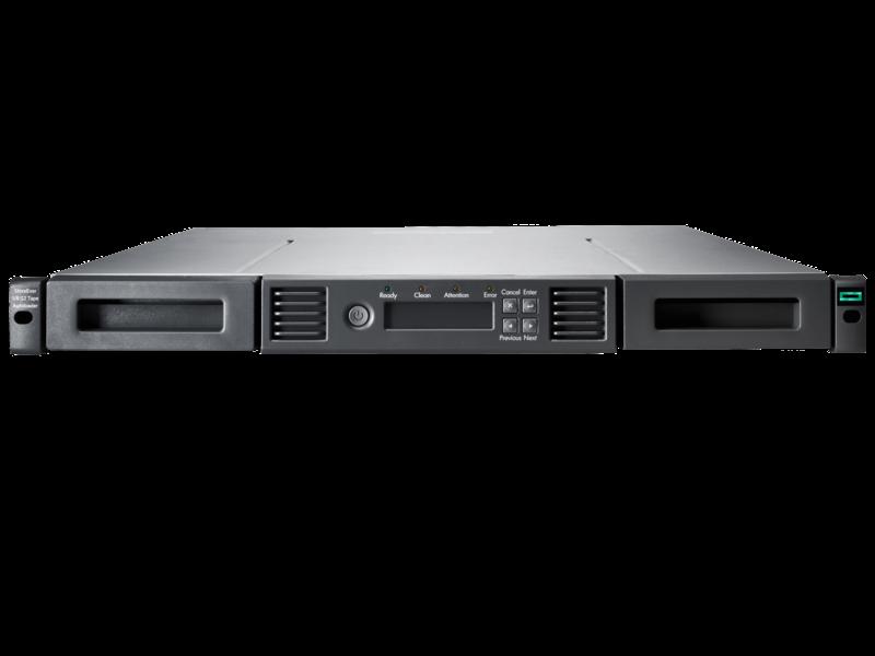 Ленточная библиотека HPE MSL 1/8 G2 0-drive Tape Autoloader (R1R75A)