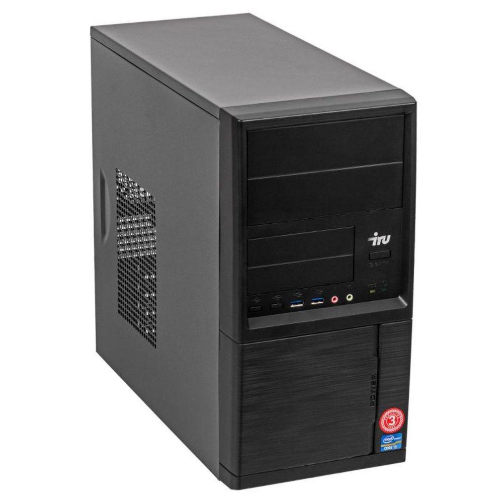 ПК IRU Corp 512 MT PG G5400 (3.7)/8Gb/500Gb 7.2k/UHDG 610/DVDRW/Free DOS/GbitEth/350W/черный