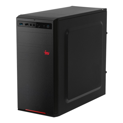 ПК IRU Home 315 MT i5 9400F (2.9)/8Gb/1Tb 7.2k/GTX1660 6Gb/Windows 10 Home Single Language 64/GbitEth/500W/черный