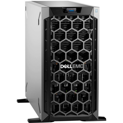 Сервер Dell PowerEdge T340 1xE-2276G x8 1x1.2Tb 10K 2.5in3.5 SAS RW H730p FP iD9En 1G 2P 1x495W 3Y NBD (210-AQSN-12)