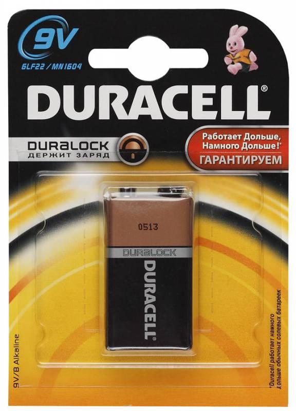 Батарейка Duracell 6LR61-1BL Basic 9V 1шт