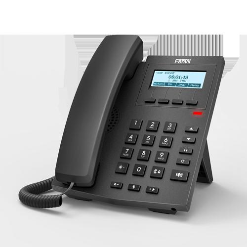 Телефон IP Fanvil X1SP черный