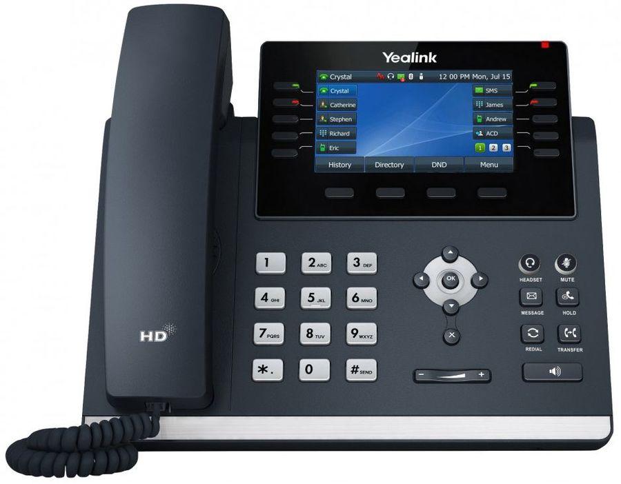 Телефон SIP Yealink SIP-T46U черный