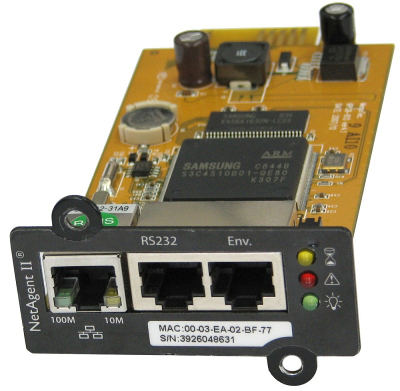 Блок управления Powercom BP506-06-LF for UPS NetAgent II(BT506) internal 3ports