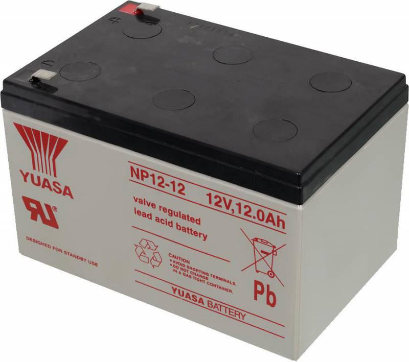Аккумулятор Yuasa NP12-12 12В 12Ач