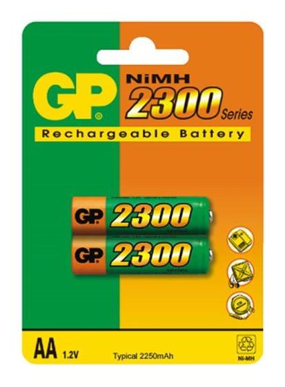 Аккумулятор GP230AAHC-CR22300mAh AA 2шт